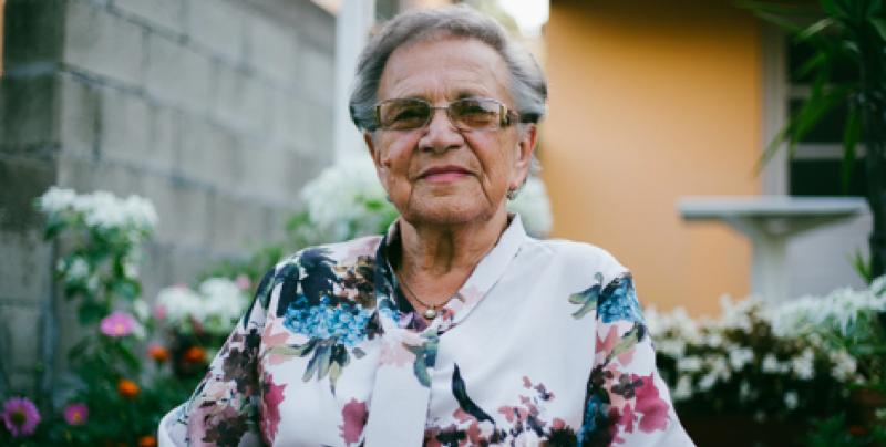 Senior parishioner