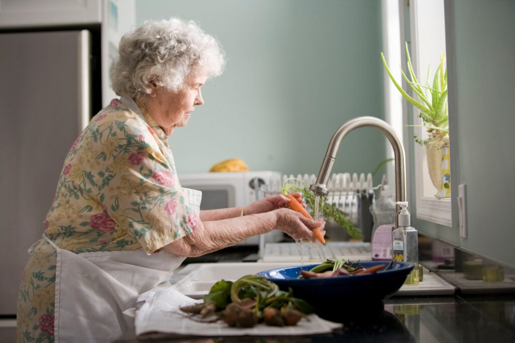 what seniors want most picture of an elderly woman